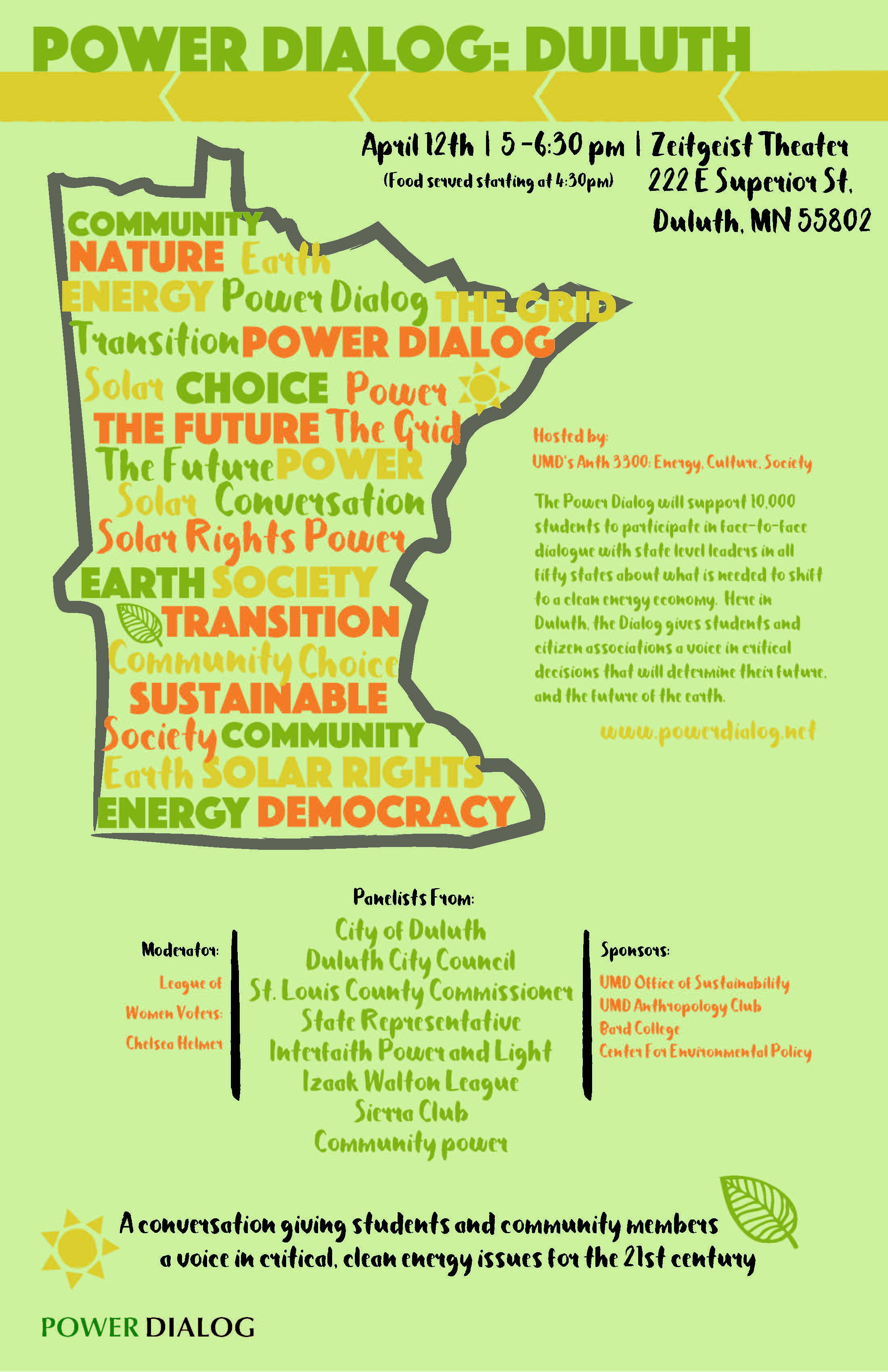 Duluth Power Dialog Poster