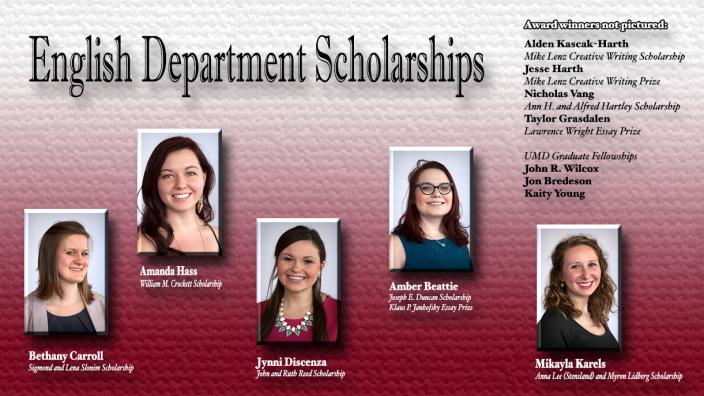 Scholarship and award winners