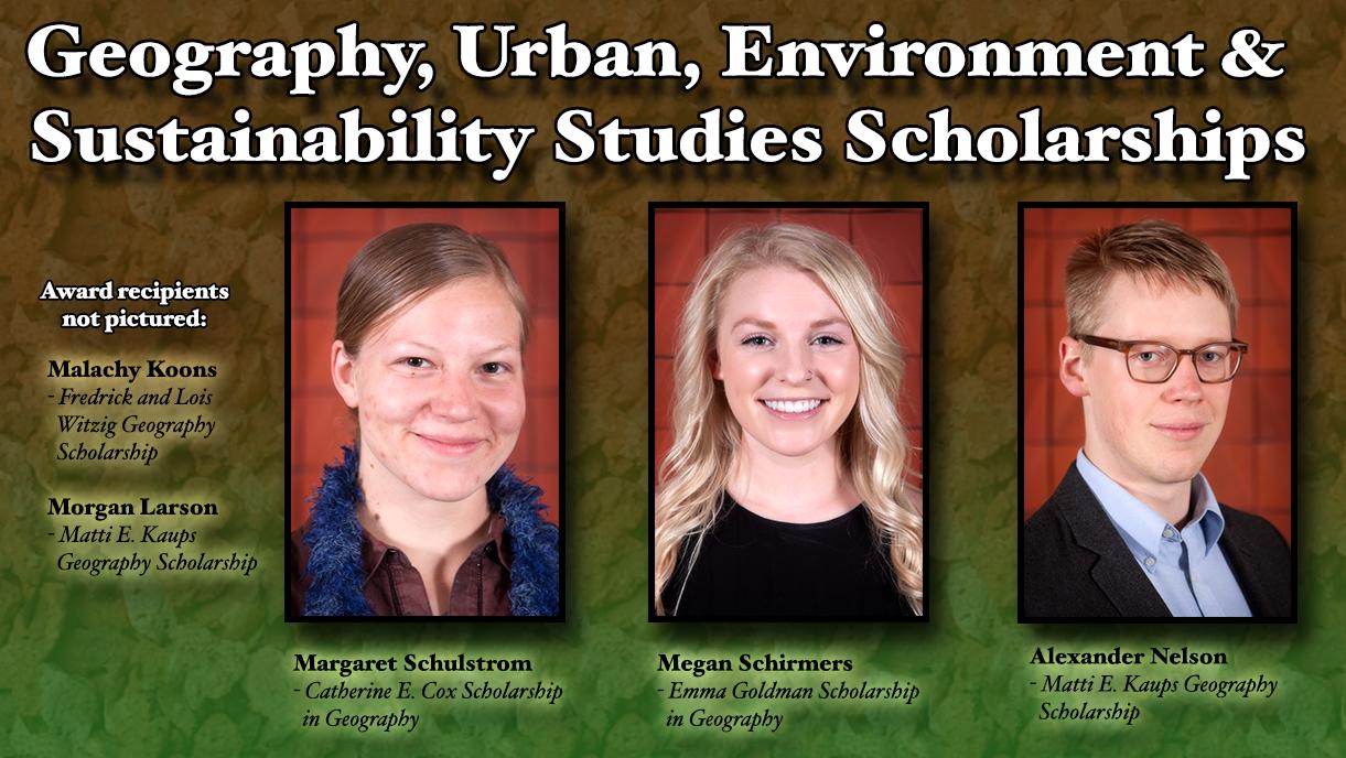 GUESS Scholarship Recipients