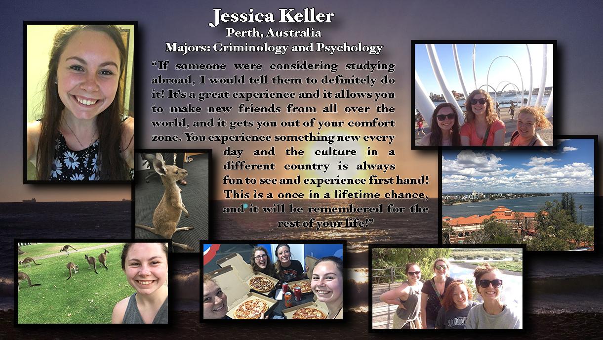 Jessica Keller: Perth, Australia