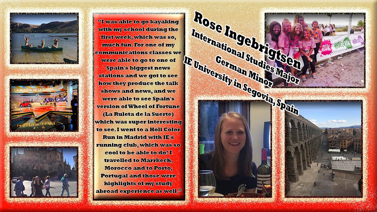 Rose Ingebrigtsen - Segovia, Spain