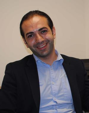 Photo of New Assistant Professor Gary Yeritsian