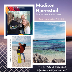 Madison study abroad in Perth