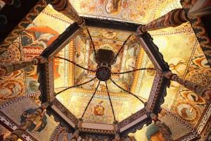 Synagogue ceiling