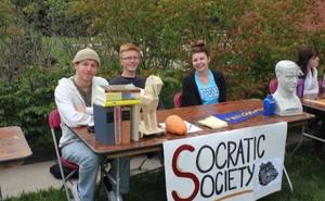 Image of students from socratic society club