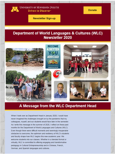 Fall 2020 WLC Newsletter