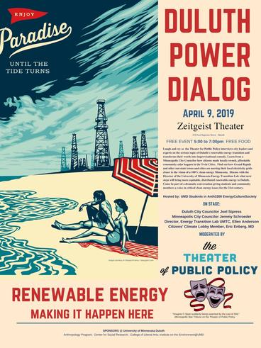 Duluth Power Dialog poster 2019