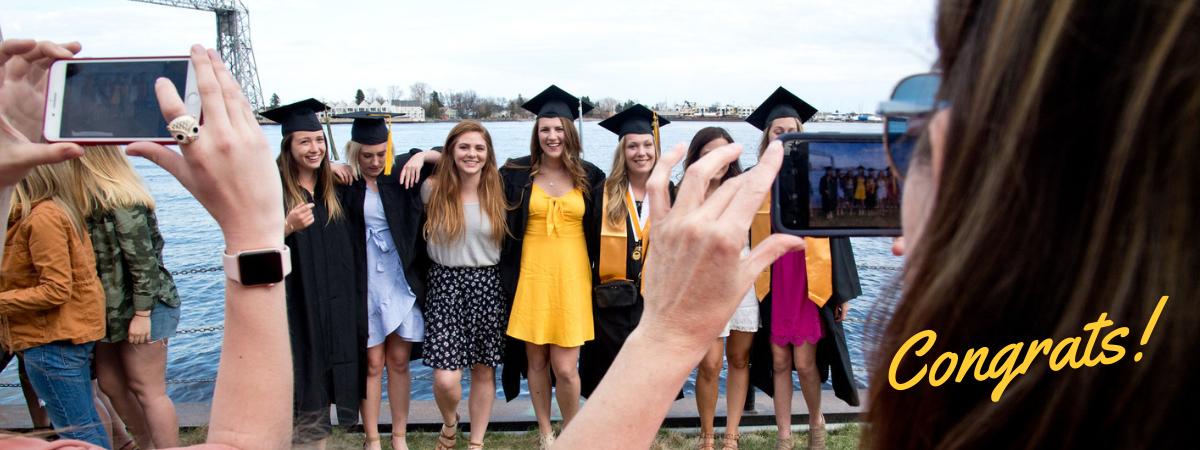Congratulations graduating students!