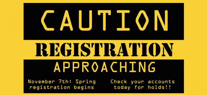 Photo: Spring Registration