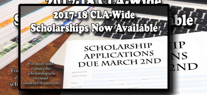 CLA Scholarship Image