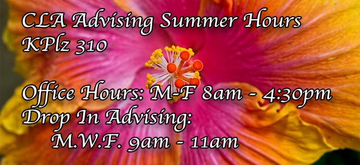 Summer CLA Office Hours