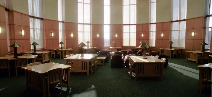 Library rotunda