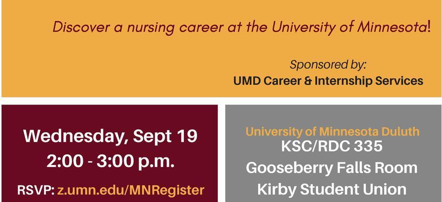Nursing Career Info Session