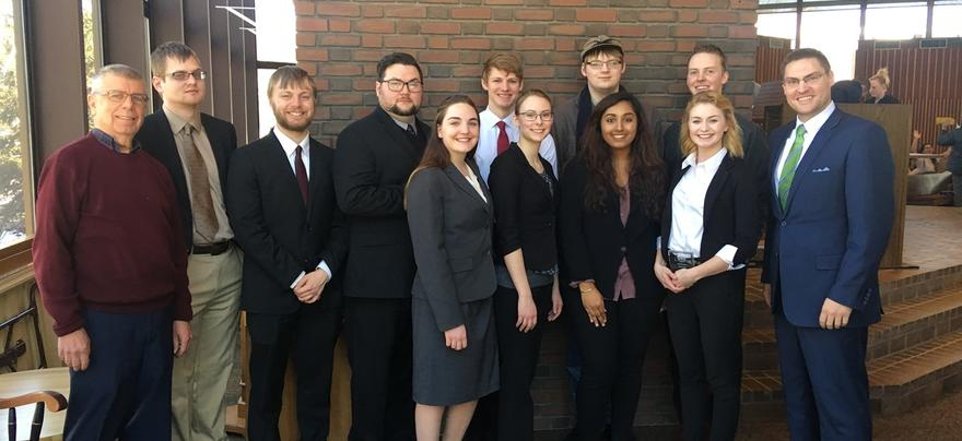 Mock Trial group pic 2018