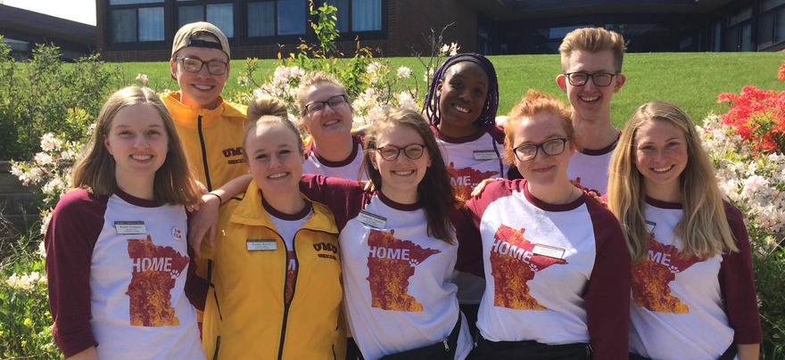 Student orientation leaders for 2018
