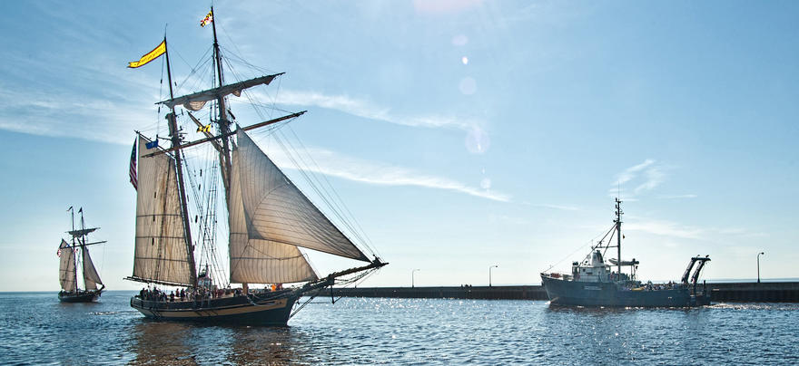 Tall ships visit Duluth