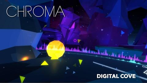 screenshot of the game Chroma, part of the Digital Cove series