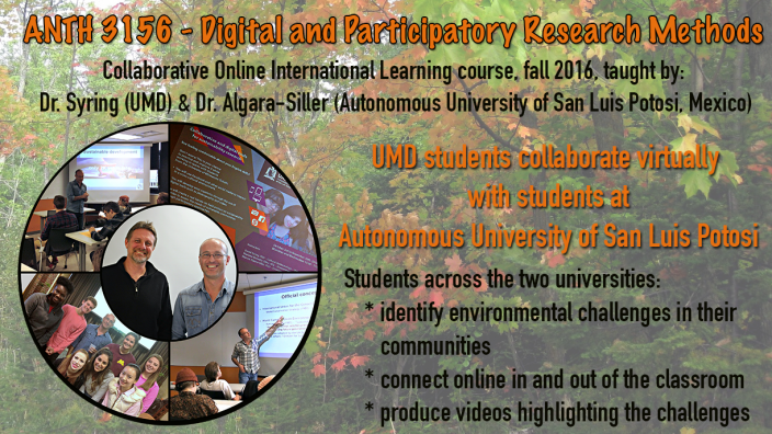 Photo: ANTH 3156 Digital and Participatory Research Methods