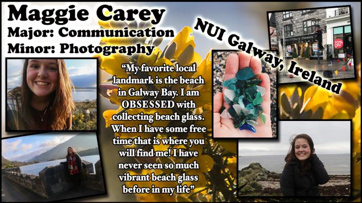 Maggie Carey, Photo in Ireland