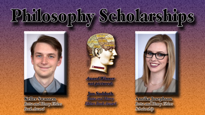 Poster: Philosophy Scholarship Winners