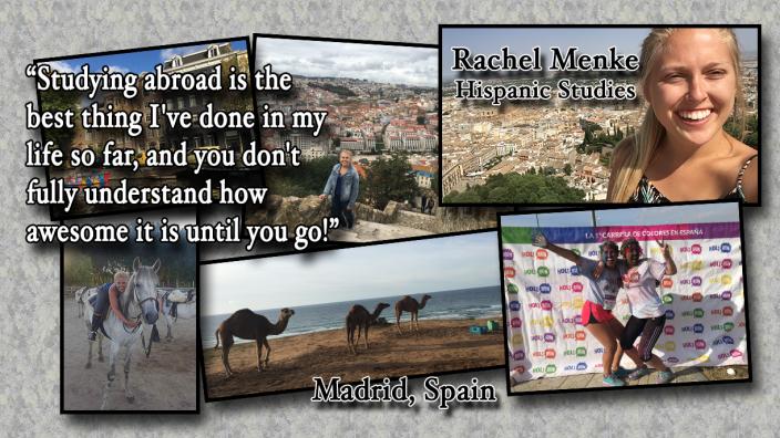Rachel Menke: Study Abroad Photo