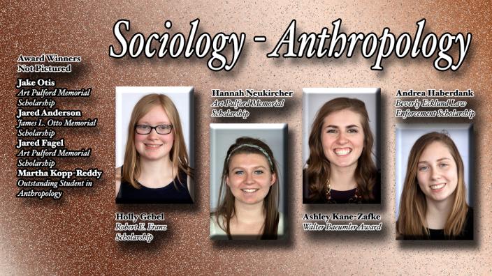 Poster: Soc/Ant Scholarship Winners