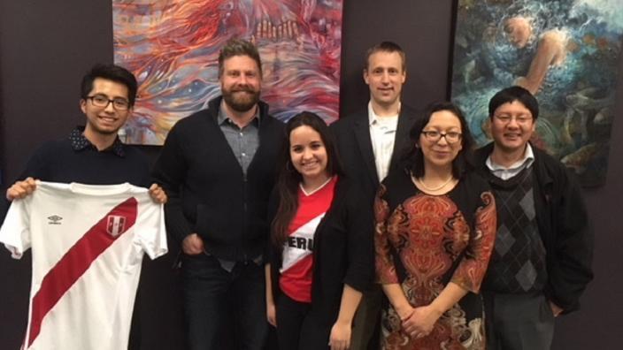 Taste of Peru organizers