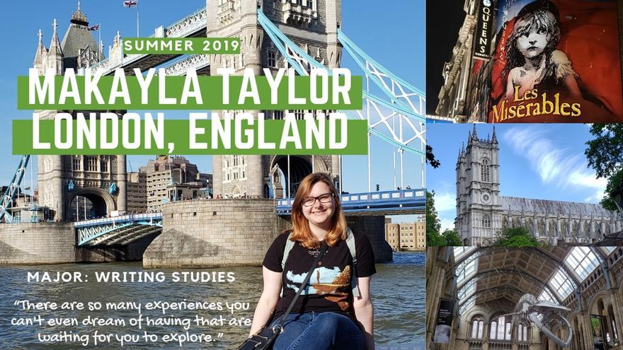 Taylor London Study Abroad
