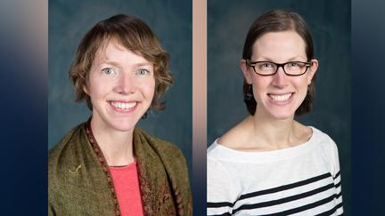 Avesa Rockwell and Lindsay Jungman