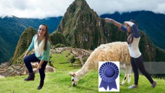 Team Dos Lentas on Inca Trail