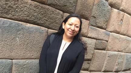 Jennifer Gómez Menjívar in Cusco Perú