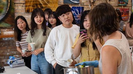 Korean Students at UMD