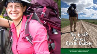 Walk Across North Dakota - Gwen Holberg