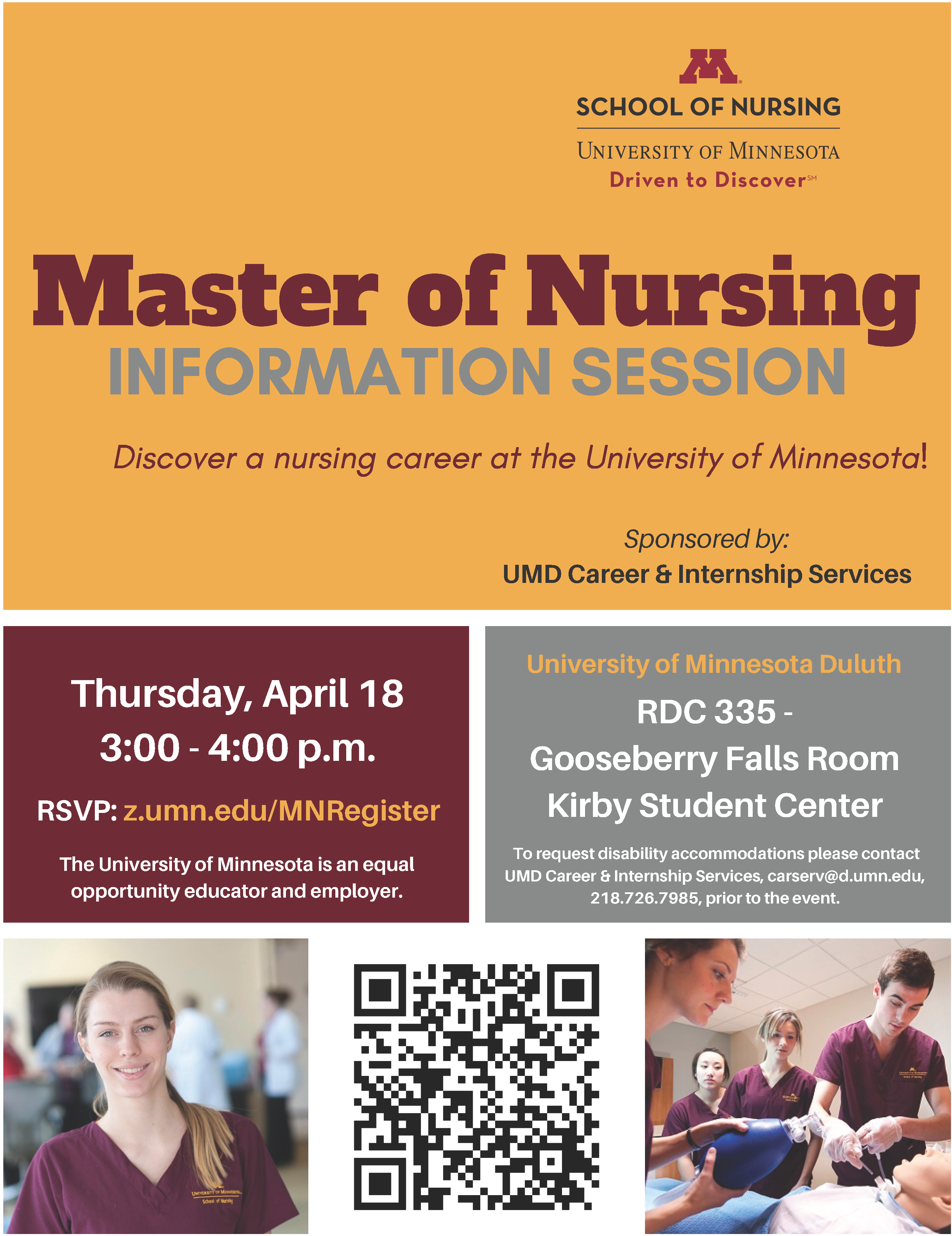 Nursing Program Event on April 18, 2019
