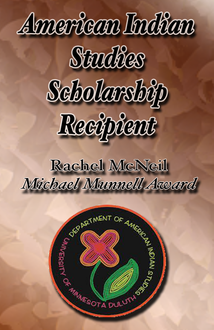 American Indian Studies Scholarship Recipient