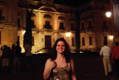 Amanda Avery: Salamanca, Spain