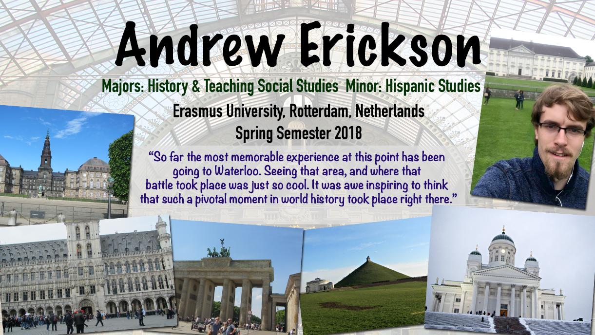 Andrew Erickson Rotterdam Netherlands