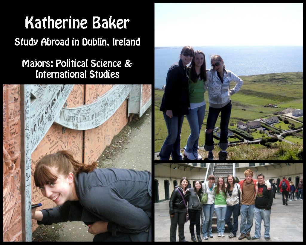 Katherine Baker: Dublin, Ireland