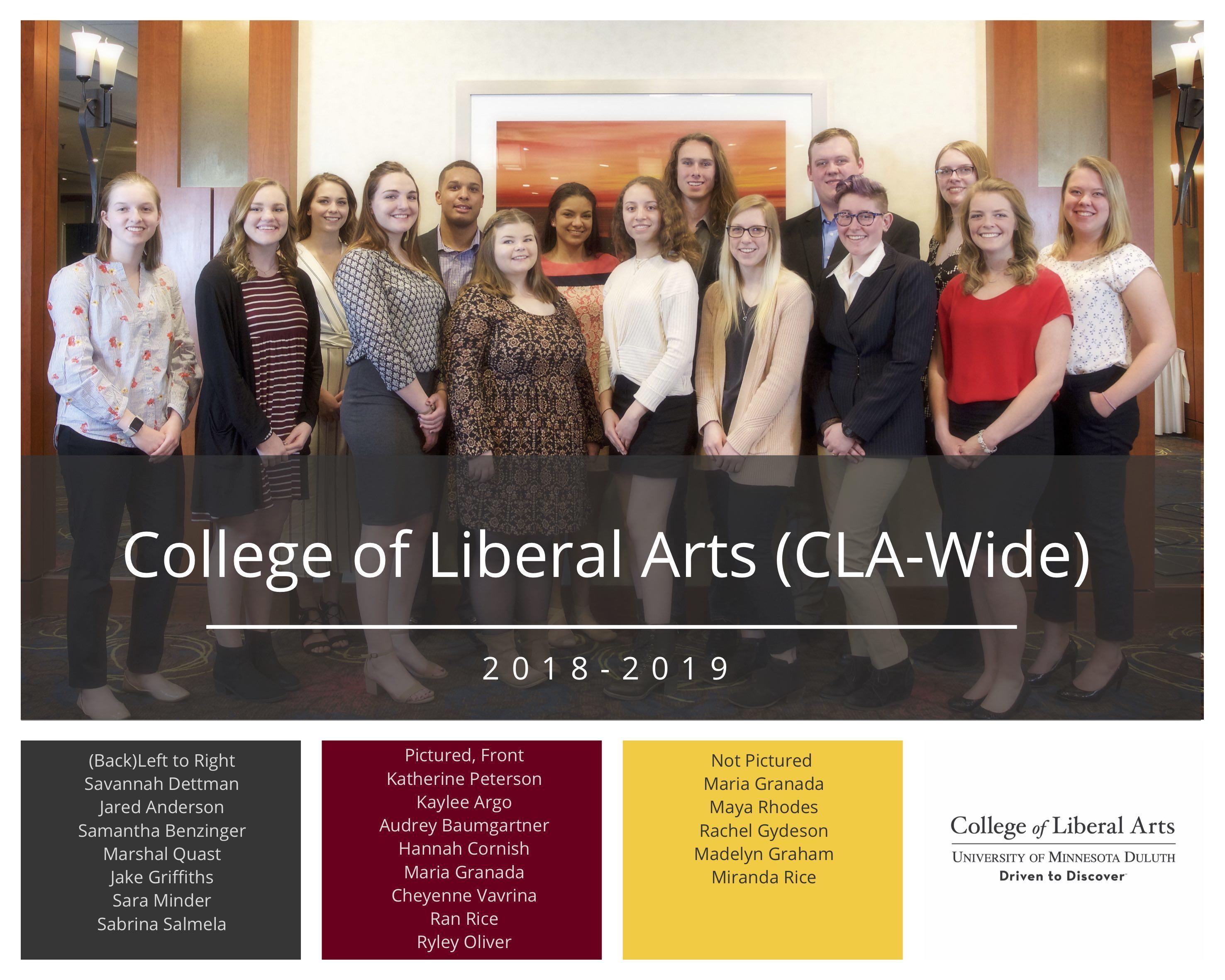 CLA Scholarships 2019