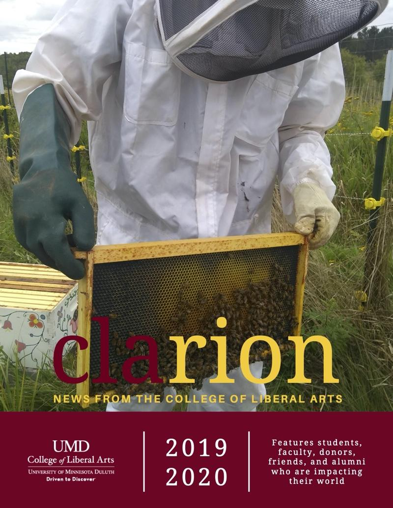 UMD College of Liberal Arts CLArion newsletter 2020