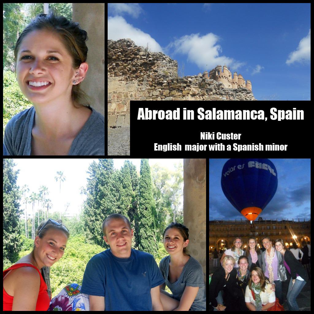 Niki Custer: Salamanca, Spain