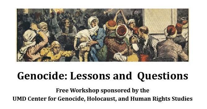 Genocide Workshop Poster