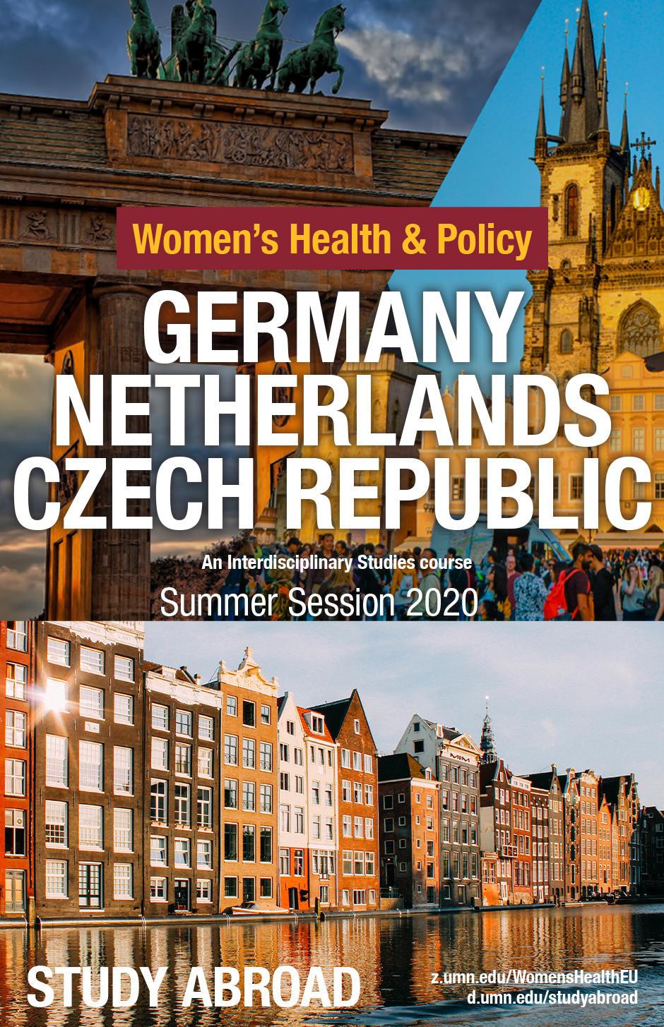 German, Netherlands, Czech Republic poster (summer 2020)