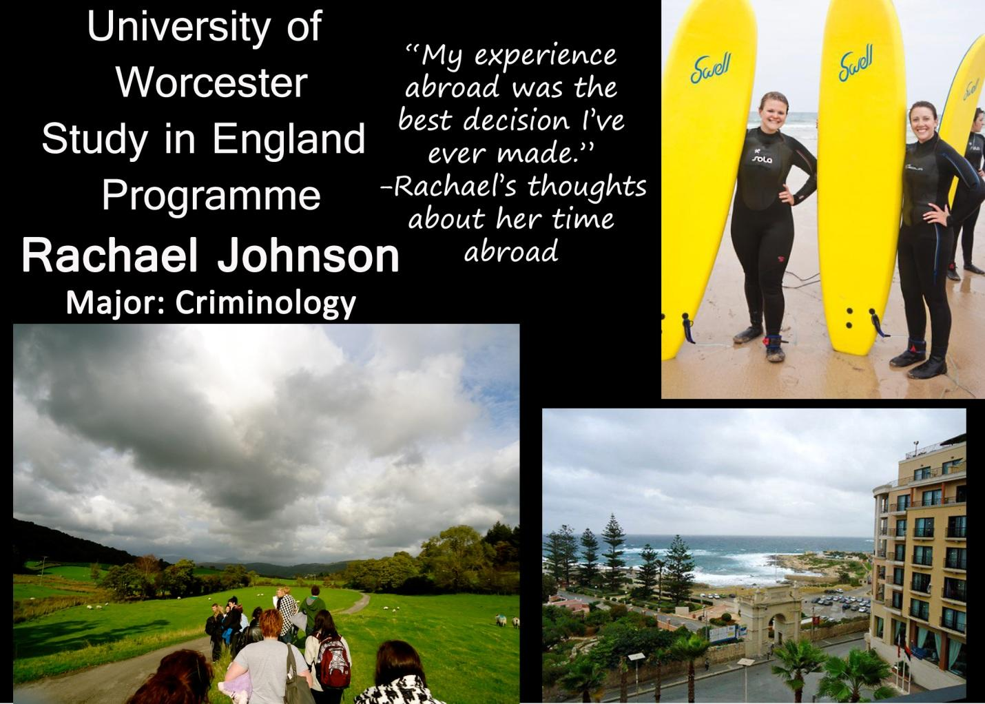 Rachel Johnson Worcester, England