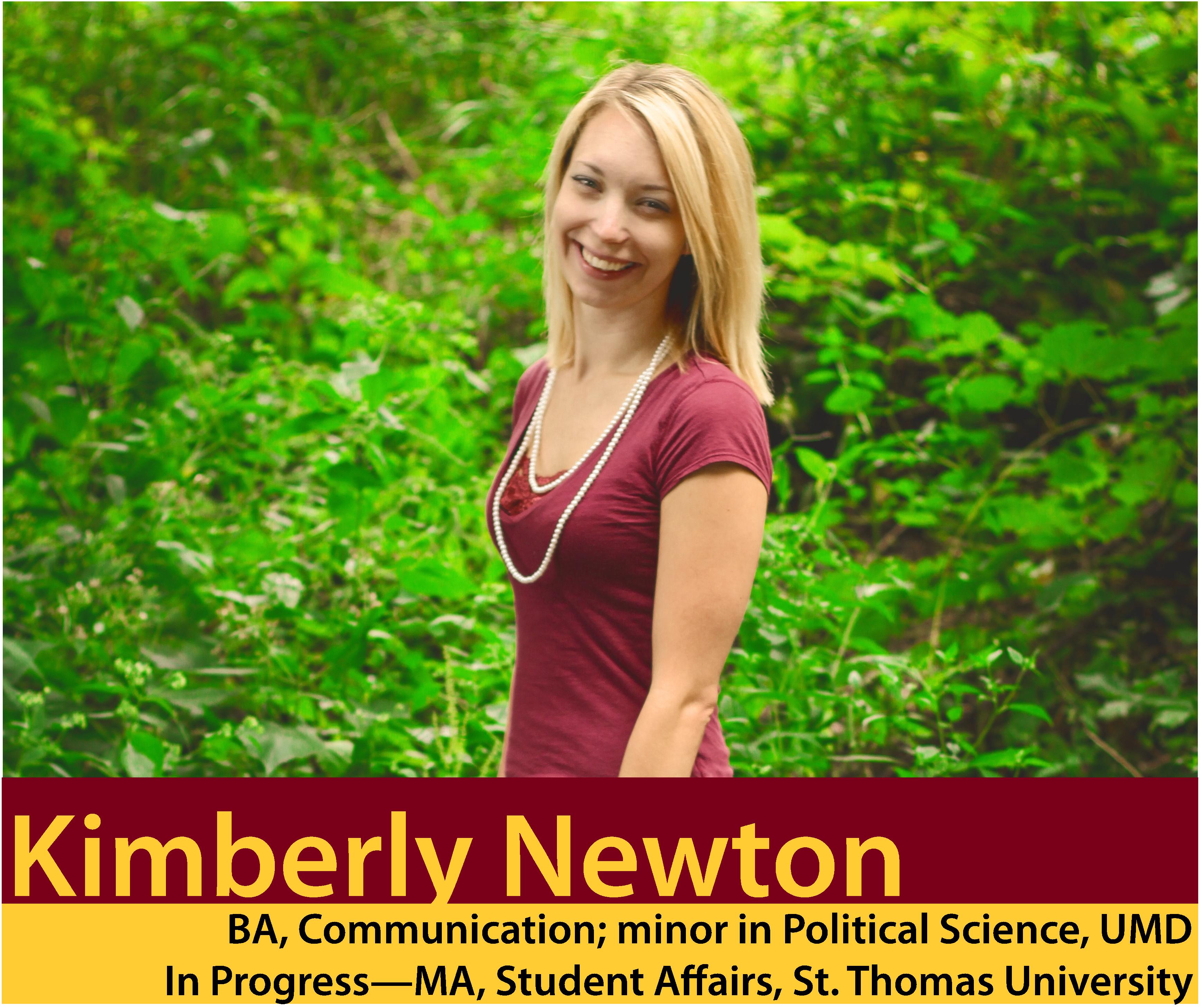 Alumni Photo: Kimberly Newton