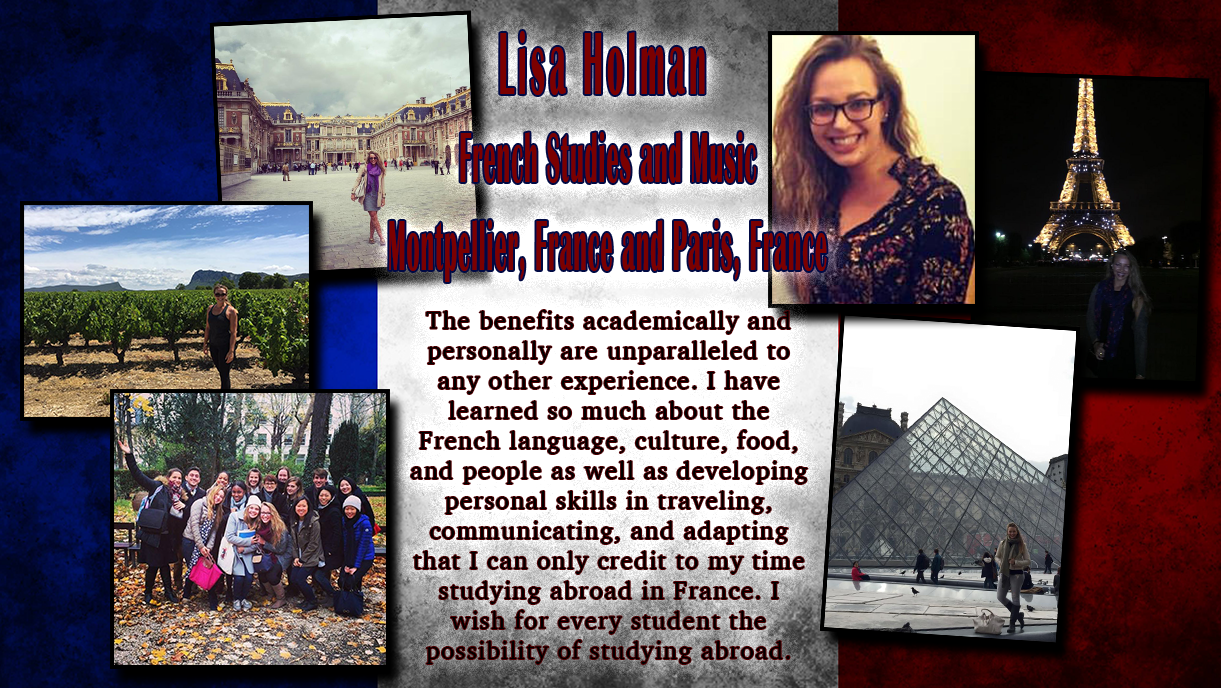 Lisa Holman - Paris, France