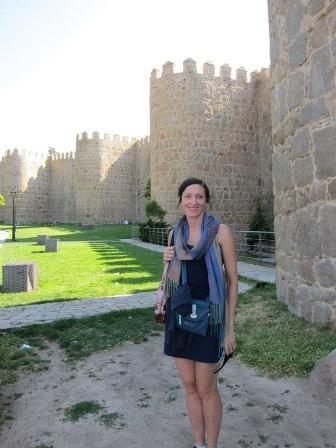 Maureen in Spain