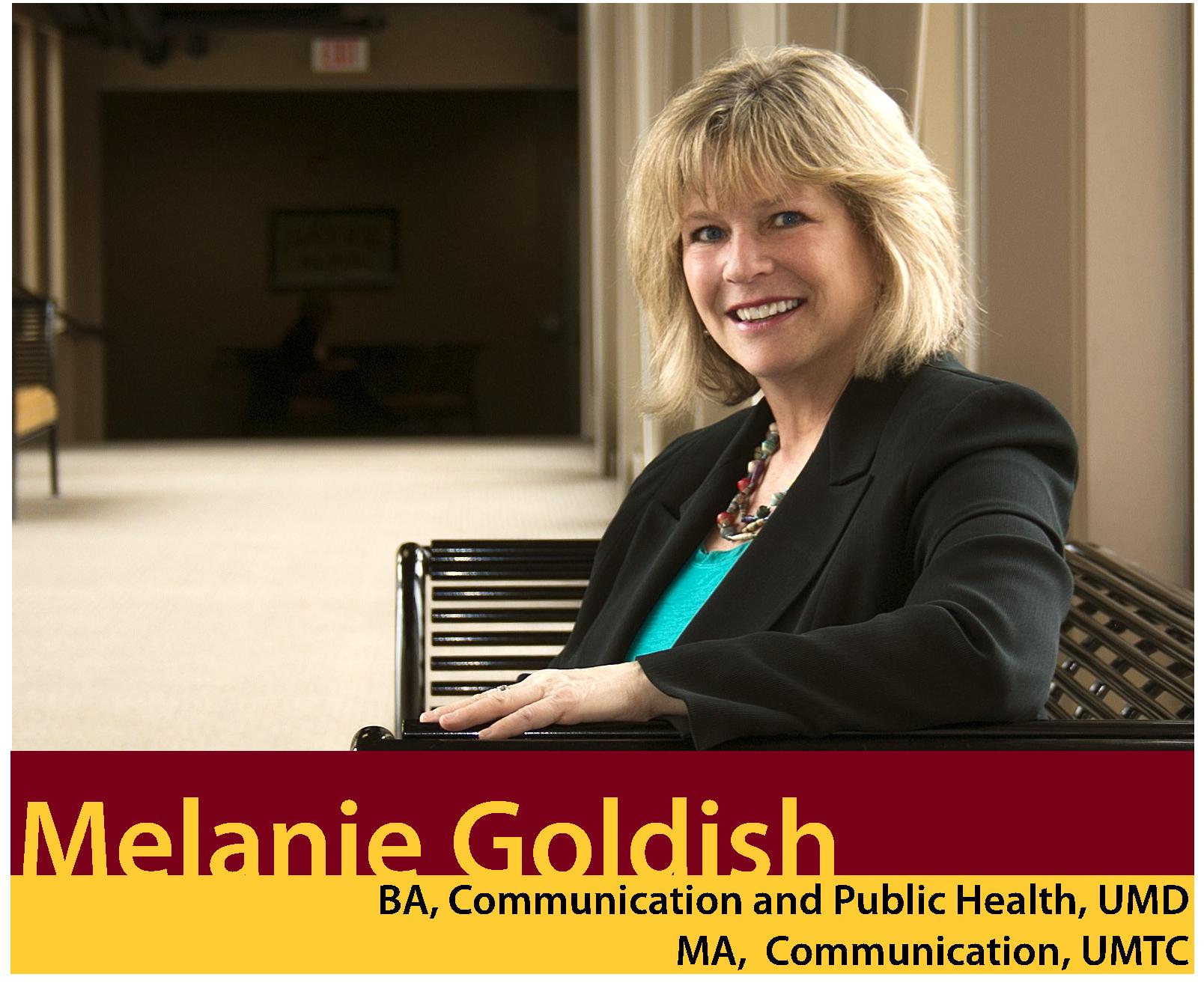 Alumni Photo: Melanie Goldish