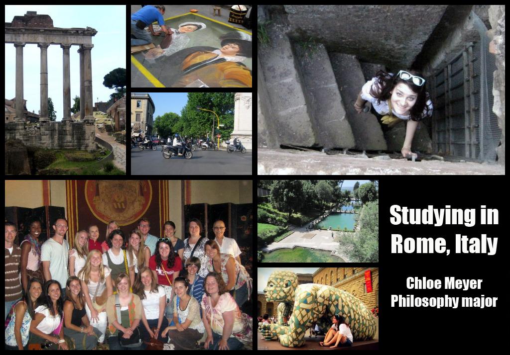 Chloe Meyer: Rome, Italy