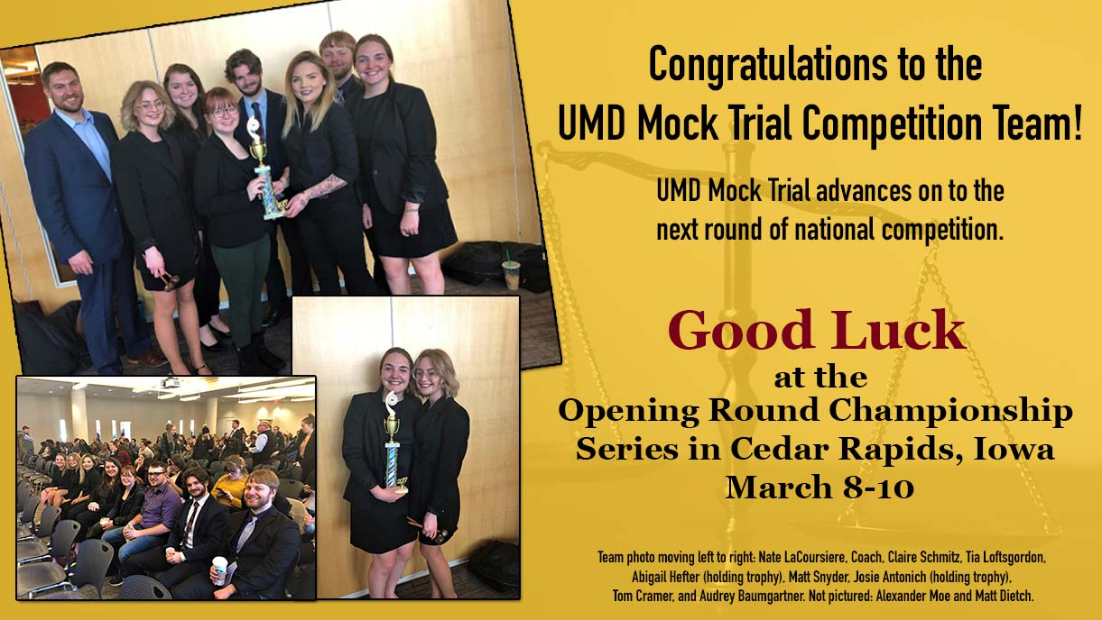 Mock Trial team 2019